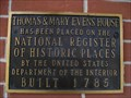 Image for Thomas & Mary Evens House