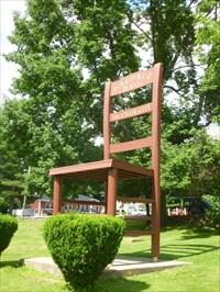 View Waymark Gallery. Bicentennial Giant Chair   Gardner, MA
