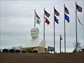 Image for Giant Head of President Eisenhower - Denison, TX