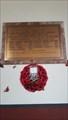 Image for WWI Memorial Plaque - St Mary - Luddenham, Kent