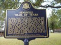 Image for Seminole Trail of Tears - Wewoka, OK