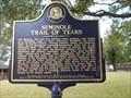 Image for Seminole Trail of Tears - Wewoka, OK