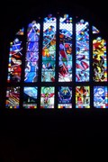 Image for The Creation, Refectory West Window, Cathedral Church of Christ and the Blessed Virgin Mary, Chester.