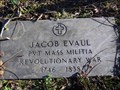 Image for Jacob Evaul (1746 - 1838) - Old Newtown Friends Burial Ground - Oaklyn, NJ