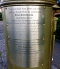 Image for Ellie Simmonds - Gold Post Box - City & County of Swansea, Wales.