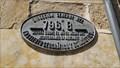Image for Elevation Sign - Salamanca, Spain. 796.8 meter