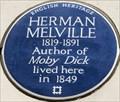 Image for Herman Melville - Craven Street, London, UK