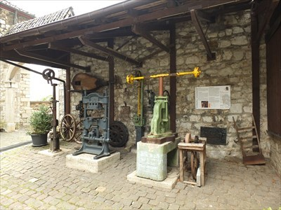 Drop Hammer, Screw Presses and Toggle Lever Press - Stolberg Castle