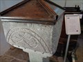 Image for Norman Font - St Michael's Church - Betws-y-Coed, Snowdonia, Wales.