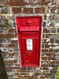 Image for Victorian Wall Post Box in Colhook Common, West Sussex, UK