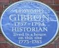 Image for Edward Gibbon - Bentinck Street, London, UK