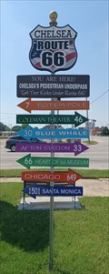 Image for Chelsea Direction and Distance Arrows - Chelsea, OK