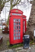 Image for Red Telephone Boxes - Randolph Avenue, London, UK
