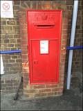 Image for Wall Mounted Post Box, Sittingbourne Rail Station, Sittingbourne, Kent, UK