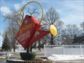 Image for Krieger's Giant Watering Can, Mason City, IA