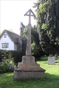 Image for Combined War Memorial, Churchyard of St.Mary the Virgin, Walden Road, Radwinter, Essex, CB10 2SW.