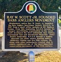 Image for Ray W. Scott Jr. Founded Bass Anglers Movement - Montgomery, AL
