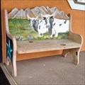 Image for Longhorns Wooden Bench - Huntsville, TX
