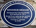 Image for Windsor Bridge - Windsor, UK