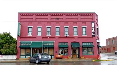 Grand Hotel Big Timber Mt Antique Hotels On Waymarking Com