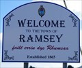 Image for Welcome Sign Andreas Road (A9) - Ramsey, Isle of Man