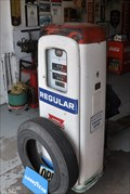Image for Conoco Vintage Gas Pump - Williams, Arizona