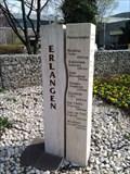 Image for Erlangen Sister Cities Signpost - Erlangen/ Germany/ EU