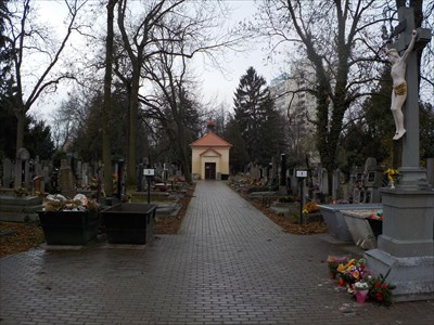 Hrbitovní kaple - Krcský hrbitov, Praha 4, CZ