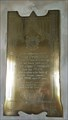 Image for 2nd Lt Thomas Penruddocke plaque - St Michael - Compton Chamberlayne, Wiltshire
