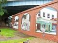 Image for Village Flood Wall  -  Wellsville, Ohio