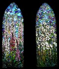 Image for St. Mary's windows - Pacific Grove, California