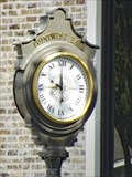 Image for Point West Bank Clock - West, TX