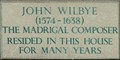 Image for John Wilbye - Trinity Street, Colchester, UK