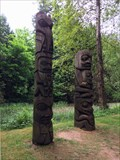 Image for Gitksan Totem Poles - Vancouver, British Columbia, Canada