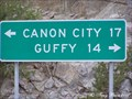 Image for Guffey Misspelled - CO Hwy. 9/CR 11 - Fremont County, CO