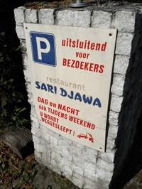 Restaurant + parkeerplaats