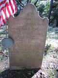 Image for John Johnson - Old Pittsgrove Presbyterian Cemetery - Daretown, New Jersey