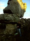 Image for stone head of the old man-Portugal