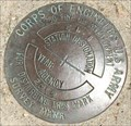 Image for U.S. Army Corps of Engineers EI 1 Survey Mark - Jersey City, NJ
