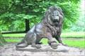 Image for Eiserner Löwe im Blohms Park - Hamburg-Horn, Germany