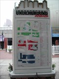 Image for You are here @ the Visitors Center in Underground Atlanta