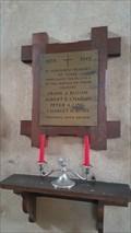 Image for Memorial Plaque - St Andrew - Darmsden, Suffolk