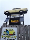 Image for 55 Olds - Andy's Autowrecker, London, Ontario, Canada