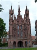 Image for Church of St. Anne - Vilnius, Lithuania