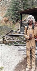 Image for Cigar Store Indian - Seven Falls - Colorado Springs, CO
