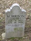 Image for Joseph L. Morrison Grave - Boone's Lick State Historic Site  - Boonsboro, Missouri