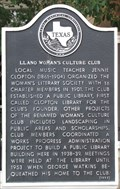 Image for Llano Woman's Culture Club