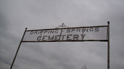 cemetry sign
