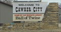 Image for Cawker City KS -- US 24 E of town