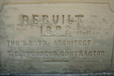 Tuscarawas County Courthouse Cornerstone for 1882